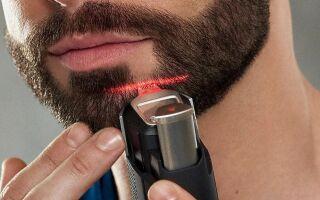 Как правильно брить бороду триммером