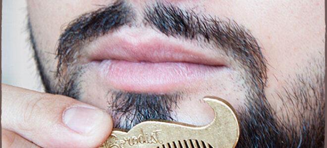 Виды расчесок, гребней для бороды и усов