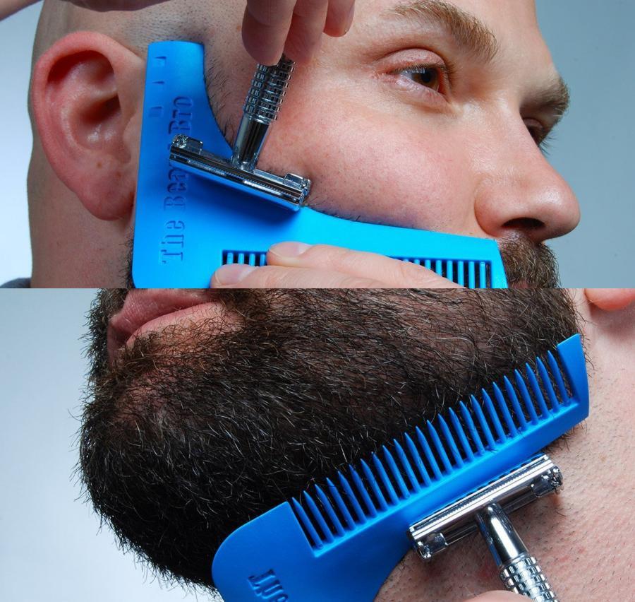 Шаблон для ухода за бородой