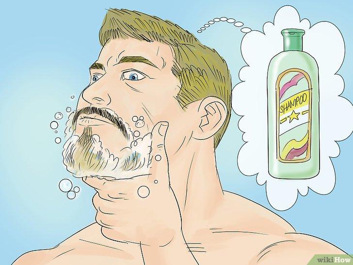 Мытьё бороды