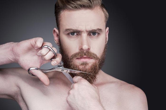 Как подстригать бороду и усы