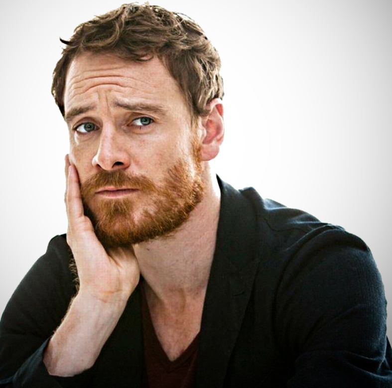 Рыжая борода у брюнета