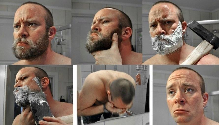 Неправильное бритье ведет к плохому росту бороды