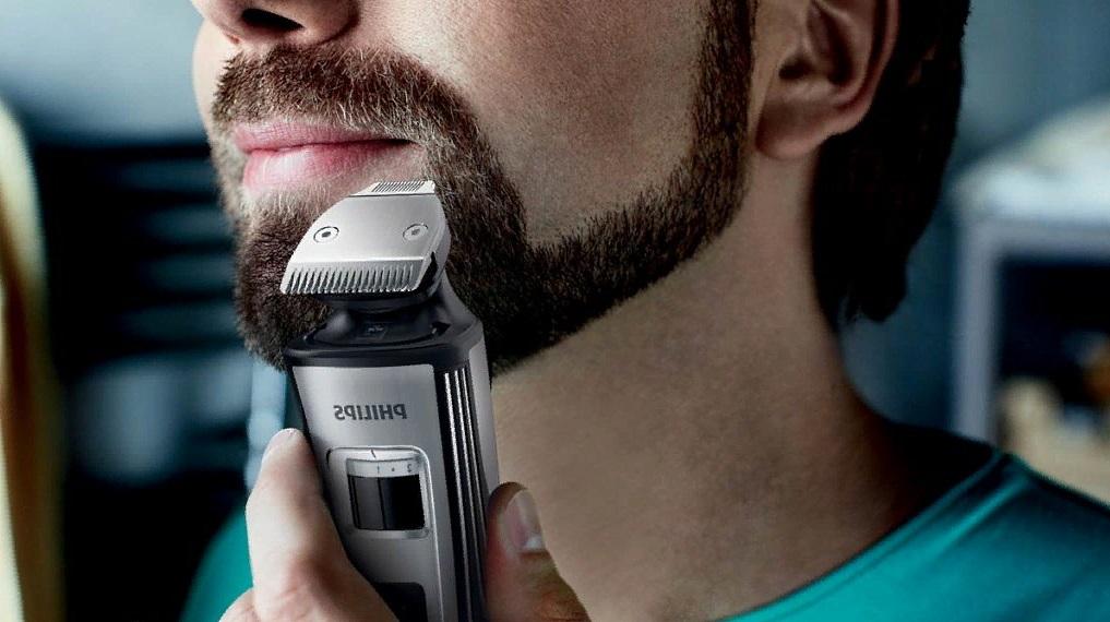 Заключительная корректировка и гладкое бритье при помощи триммера