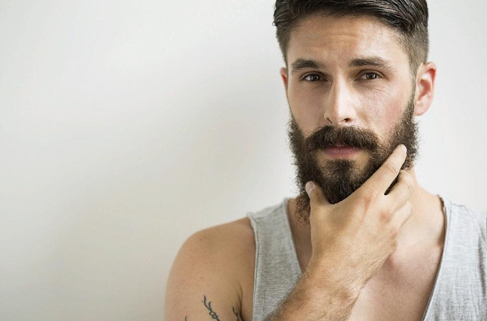 Борода после применения мази для роста бороды