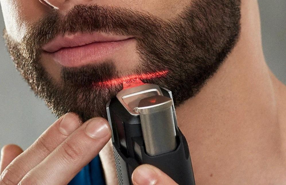 Красивое бритье бороды