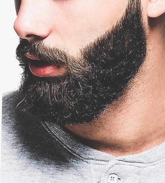 Борода после окрашивания