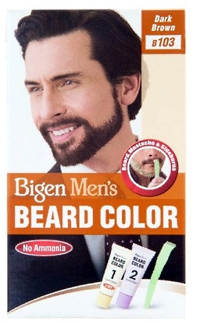 Bigen men's beard color краска для бороды