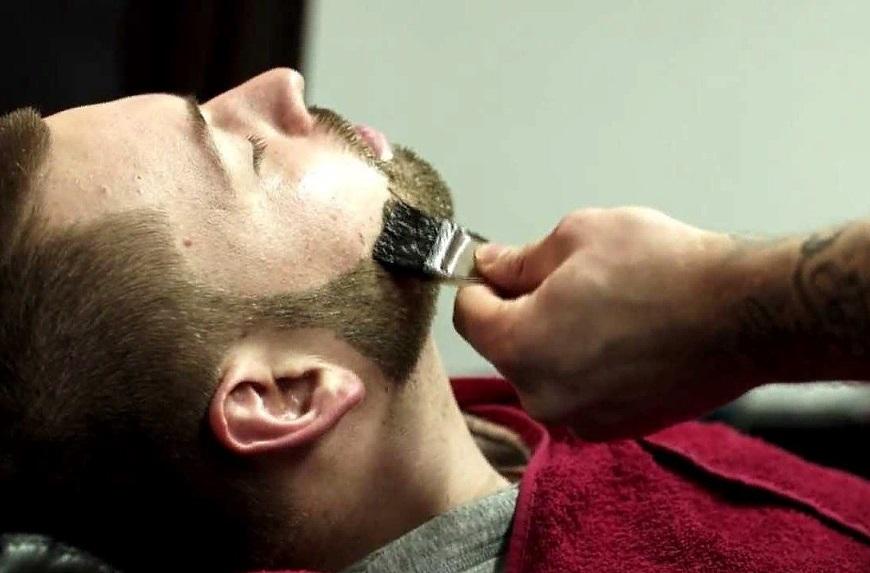 Процедура покраски бороды